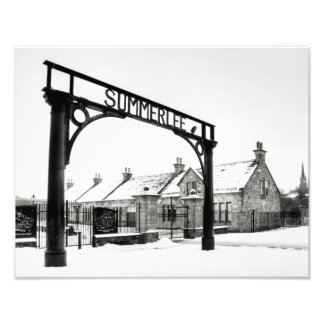 Summerlee en la nieve fotografías