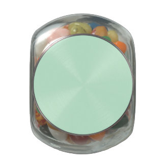 Summermint Pastel Green Mint for Summer Gazebo Jelly Belly Candy Jar