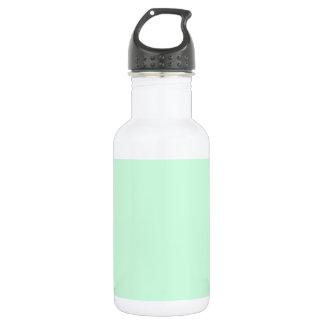 Summermint Pastel Green Mint for Summer Gazebo Stainless Steel Water Bottle