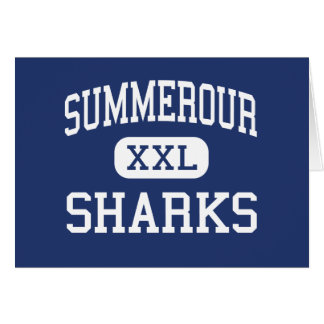 Summerour Sharks Middle Norcross Georgia Greeting Cards