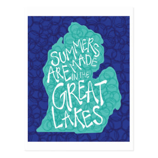 Summers Are Made In The Great Lakes - Apron Postcard