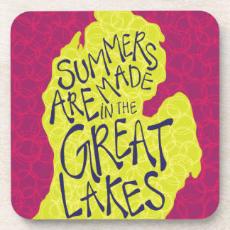 Summers Are Made In The Great Lakes - Kids! Coaster