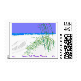 Summers at Gulf Shores Alabama Postage