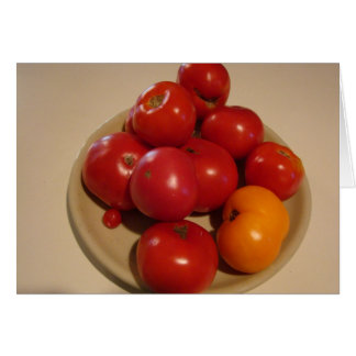Summer's Bounty, Tomatoes & Fruit Card