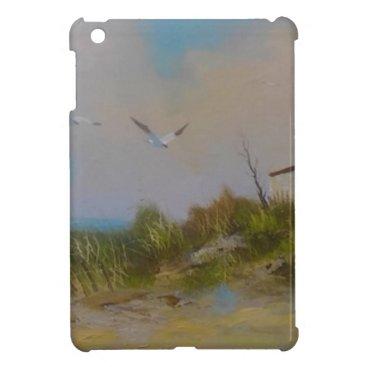 Beach Themed Summers Day iPad Mini Covers