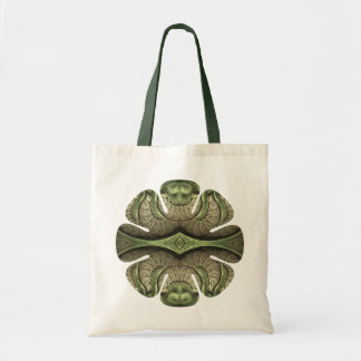 Summer's Hum Flower Budget Tote Bag