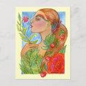 Summer's Last Garden Postcard postcard