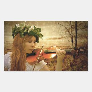 Summers Last Song Rectangular Sticker