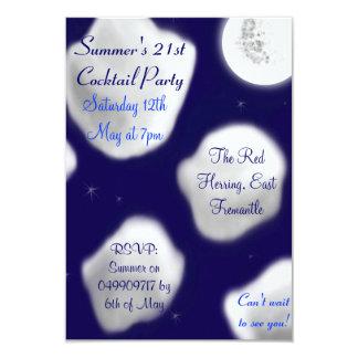 Summer's Night Clouds Invite