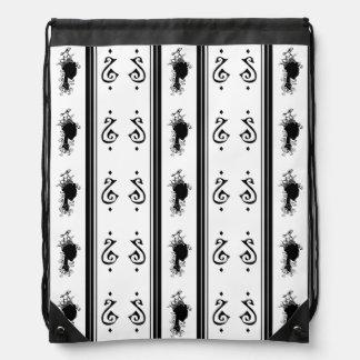 Summer's Phantom Pattern Cinch Bags
