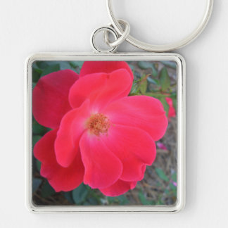 Summer's Red Rose CricketDiane Designer Keychain