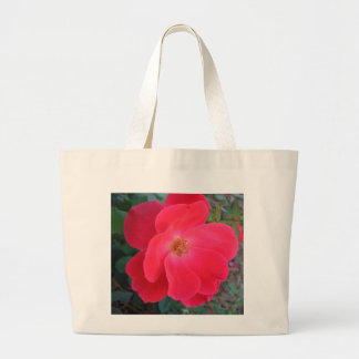 Summer's Red Rose CricketDiane Designer Large Tote Bag