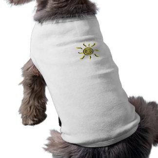 Summersgarden Sunshine Yellow and Black mini - Dog Tshirt