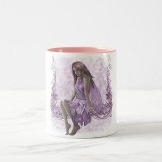 Summerspring Fairy Two-Tone Coffee Mug