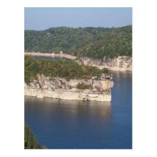 Summersville Lake WV Postcard