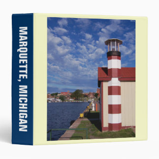 Summertime At Lake Superior 3 Ring Binder