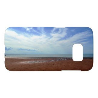 Summertime at Rushton Beach Samsung Galaxy S7 Case