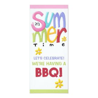 Summertime BBQ Invitation