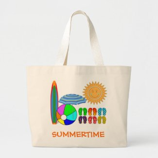 Summertime Beach Party Tote Bag