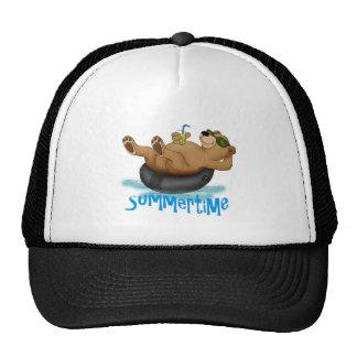 Summertime Bear Mesh Hat