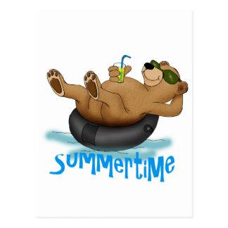 Summertime Bear Post Cards