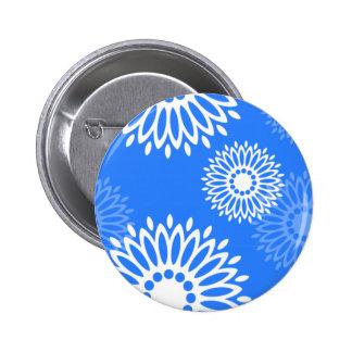 Summertime Blue Button