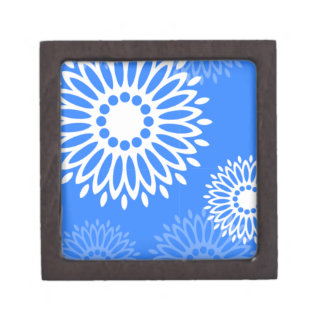 Summertime Blue Gift Box Premium Jewelry Boxes