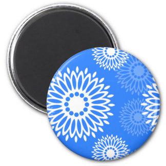 Summertime Blue magnet Refrigerator Magnets