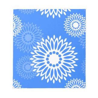 Summertime Blue Notepad