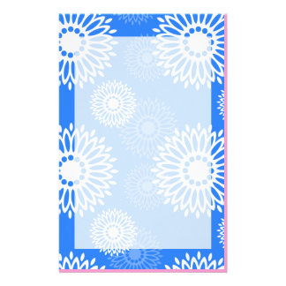 Summertime Blue Stationery