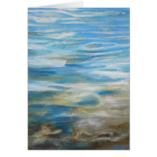 """Summertime Blues"" - NoteCard Stationery Note Card"