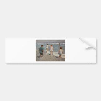 Summertime Bumper Sticker