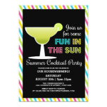 Summertime Cocktail Party Invitations Invitations