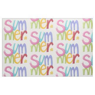 "Summertime Combed Cotton (56"" width) Fabric"