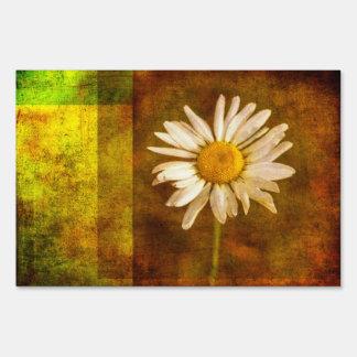 Summertime Daisy Lawn Sign