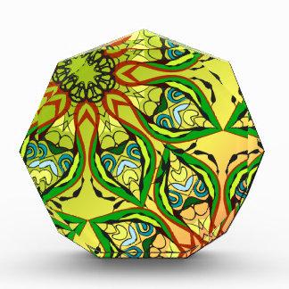 Summertime fruits acrylic award