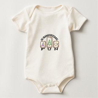 Summertime Fun Baby Bodysuit