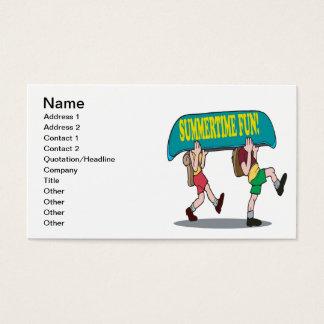 Summertime Fun Business Card