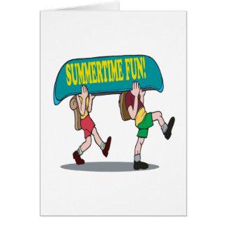 Summertime Fun Greeting Cards