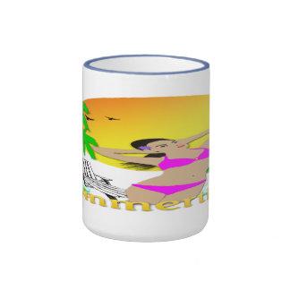Summertime - Girl Mug