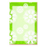 Summertime Green Stationery