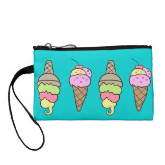 Summertime Ice-Cream Coin Wallet