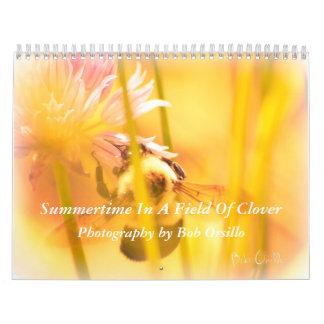 Summertime In A Field Of Clover Calendar