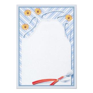 Summertime © 5x7 paper invitation card