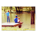 Summertime is for Fishing Greeting Card
