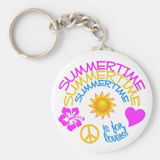 Summertime keychain