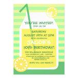 Summertime Lemonade Party Invitation