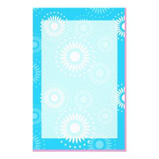 Summertime Light Blue Stationery