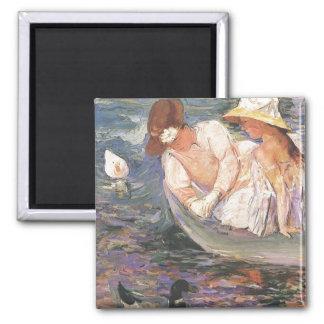 Summertime, Mary Cassatt, 1894 Magnet