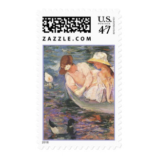 Summertime, Mary Cassatt, 1894 Postage Stamps